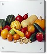 Agriculture - Autumn Fruits Acrylic Print