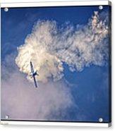 Air Show Selfridge Havilland Super Chipmunk Acrylic Print