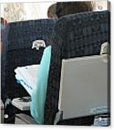 Airline Travel. Acrylic Print
