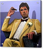 Al Pacino Acrylic Print by Paul Meijering