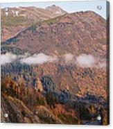Alaskan Mountains Acrylic Print