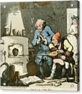 Alchemist At Work Acrylic Print