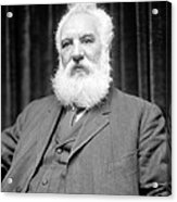 Alexander G. Bell, Scottish-us Inventor Acrylic Print by Science Photo Library