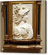 Alexander The Great By Andrea Del Verrocchio Acrylic Print