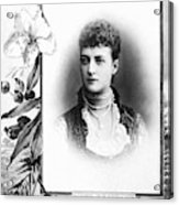 Alexandra Of Denmark (1844-1925) Acrylic Print