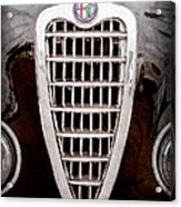 Alfa Romeo Milano Grille Emblem Acrylic Print
