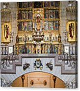 Almudena Cathedral Altar Acrylic Print