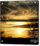 Amber Skys Nine Acrylic Print