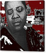 American Blues Singer Bessie Smith Unknown Date-2013 Acrylic Print
