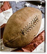 American Football Acrylic Print