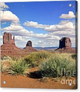 American Landscape - Monument Valley Acrylic Print