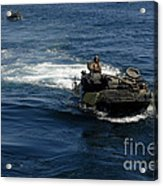 Amphibious Assault Vehicles Transit Acrylic Print