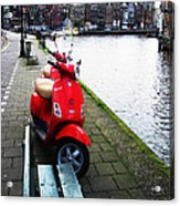 Amsterdam Landscape Acrylic Print