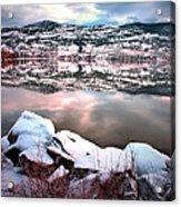 An Okanagan Winter Acrylic Print