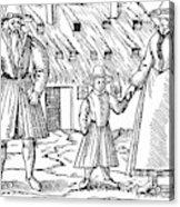 Anabaptist Family Acrylic Print