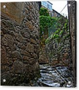 Ancient Street In Tui Acrylic Print