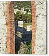 Ancient Town Of Gubbio  Acrylic Print