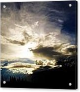 Andean Cloudwork Acrylic Print by Tyler Lucas