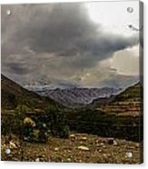 Andean Hills Acrylic Print by Tyler Lucas