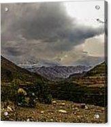 Andean Hills Acrylic Print