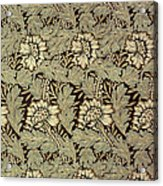Anemone Design Acrylic Print by William Morris