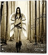 Angel In The Forest Acrylic Print