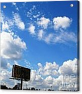 Angels About Acrylic Print