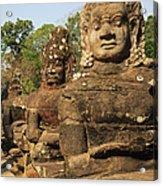 Angkor Thom South Gate Acrylic Print