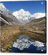 Annapurna Sanctuary Acrylic Print