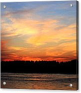 Another Great Day Ends Acrylic Print