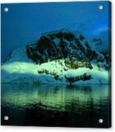 Antarctic Fiord Acrylic Print