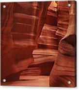 Antelope Slot Canyon Acrylic Print