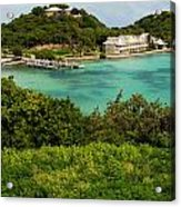 Antigua Long Bay Acrylic Print