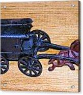 Antique Cast Iron Toy Acrylic Print