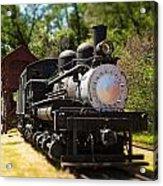Antique Locomotive Acrylic Print