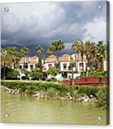 Apartment Houses In Marbella Acrylic Print
