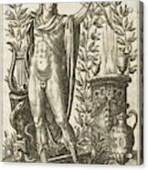 Apollo Pythias, The Greek God Acrylic Print