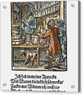 Apothecary, 1568 Acrylic Print