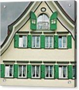 Appenzell Switzerland's Famous Windows Acrylic Print