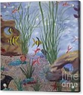 Aquarium Acrylic Print by Debra Piro