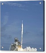 Ares I-x Test Rocket Launch Acrylic Print