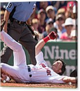 Arizona Diamondbacks V Boston Red Sox 1 Acrylic Print