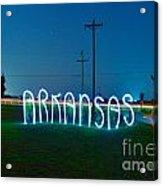 Arkansas Acrylic Print