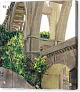 Arroyo Seco Bridge  Acrylic Print