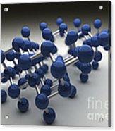 Arsenic Molecular Structure Acrylic Print