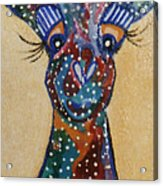 Girafe Art Acrylic Print