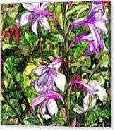 Art In The Garden II Acrylic Print
