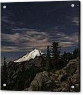 Mt. Baker At Night 1 Acrylic Print