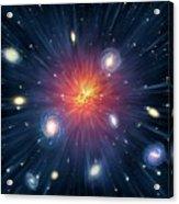 Artwork Of The Big Bang Acrylic Print