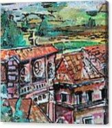Assisi Italy Acrylic Print